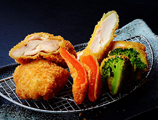 Chicken Fillet Cutlet and Chicken Thigh Cutlet Set