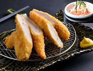 Mentaiko Chicken Fillet Cutlet Zen