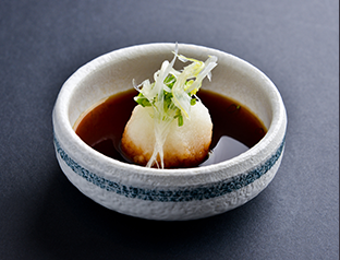 Ponzu mixed with Grated Daikon