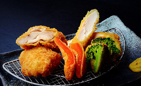 Sasami-katsu (Chicken Fillet Cutlet) and Chicken Cutlet Zen
