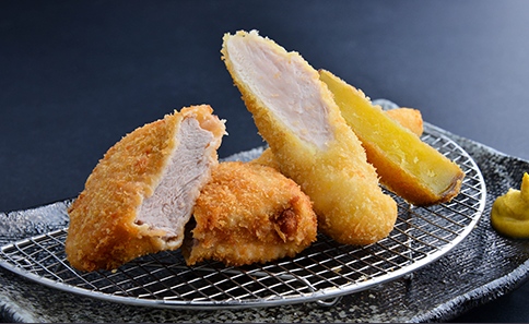 Sasami-katsu (Chicken Fillet Cutlet) and Pork Fillet Cutlet Zen